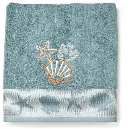 Better Homes & Gardens Coastal Bath Towel, 1