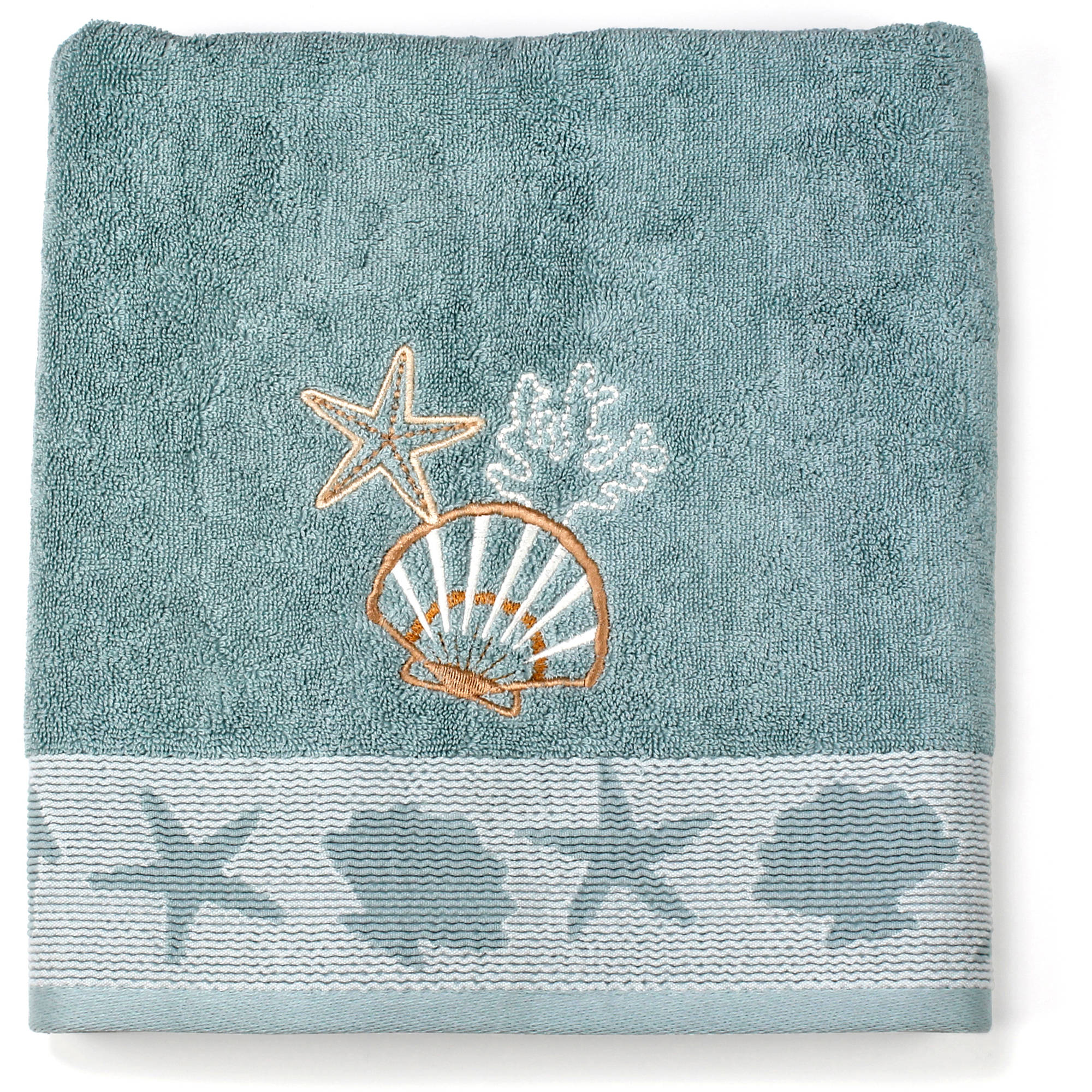 Better Homes and Gardens Coastal Bath Towel