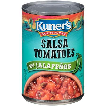 Tomato Jalapeno - Kuner's Southwest Salsa Tomatoes Mild Jalapenos, 14.5 OZ