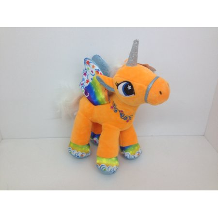 Movies & Tv Bright Big Eyes Soft Plush Toys Animal Pet Doll Colored Unicorn
