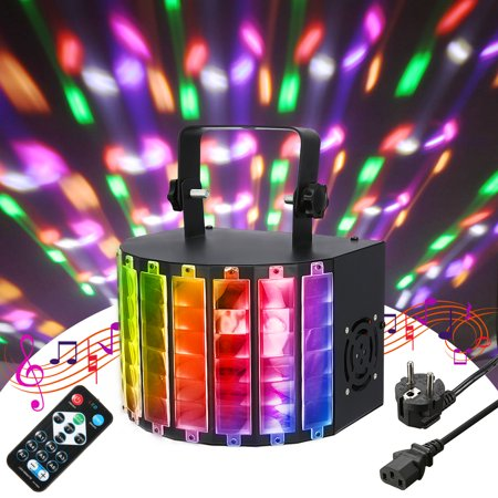 Grtsunsea 30W Strobe LED Flash Stage Effect Light Lamp DJ Disco Party Lighting Remote Control+Voice Activated+Self-propelled+DMX512 AC110V-240V - Party Strobe Lights