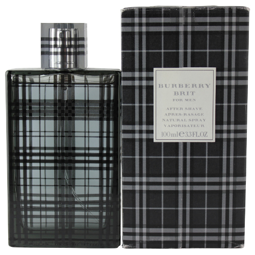 Burberry Brit by Burberry for Men Aftershave Spray 3.4oz