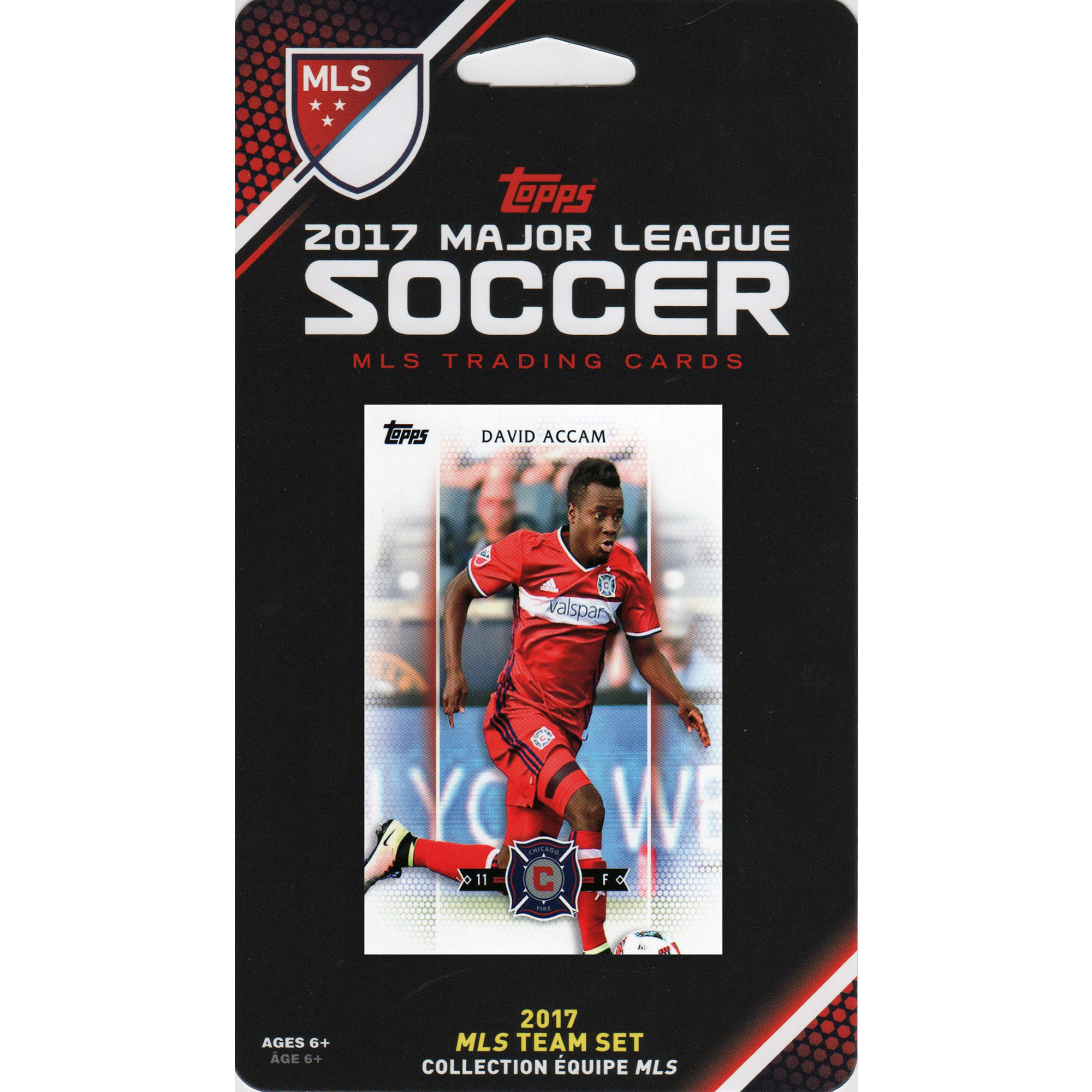 Chicago Fire 2017 Team Card Set - No Size