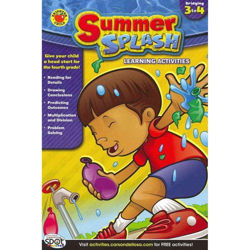 Summer Splash Learning Activities: Bridging 3 to 4