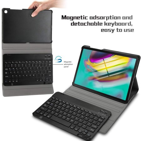 "For Samsung Galaxy Tab 10.5"" S5E T720 Bluetooth Keyboard Case Cover - image 6 de 8"