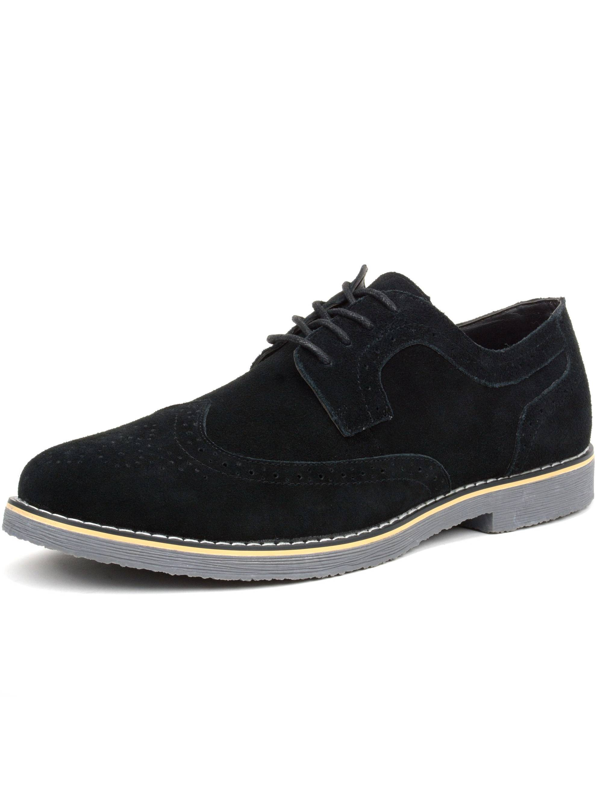 Alpine Swiss Beau Men's Dress Wingtip Brogue