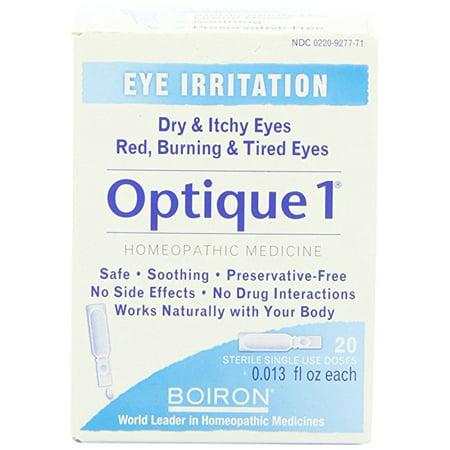 Boiron Soins personnels 1 Optique collyre 30 doses homéopathiques - Paquet de 5
