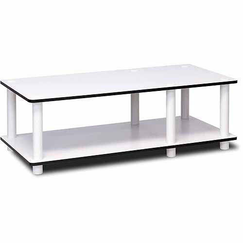 Furinno 11174 Just No-Tools Low Rise Mid TV Stand or Play Table