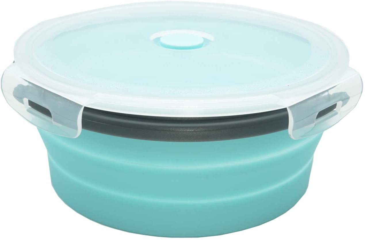 Details about  /Lunch Box Portable Folding Home Microwave Safe Office Cup Food-grade Silicone