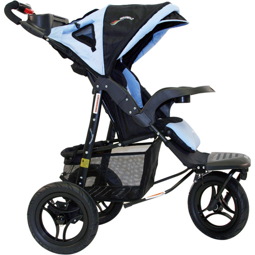 Go-Go Babyz - Urban Advantage Stroller, Vista Blue
