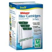 Tetra Whisper Replacement Carbon Aquarium Filter Cartridge, Medium 5-15 G, 3-Count