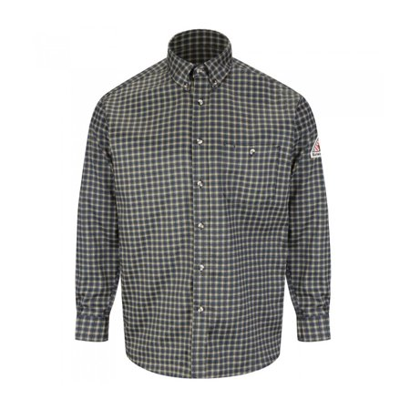 Bulwark SLG8 Plaid Dress Shirt