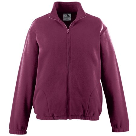 CHILL FLEECE FULL ZIP JACKET MAROON 3XL (Adult Chill Fleece)
