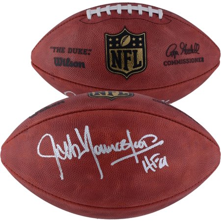 Jack Youngblood Los Angeles Rams Autographed Wilson NFL Game Football with HOF '01 Inscription - Fanatics Authentic Certified