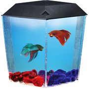 BETTAVIEW CORNER SHAPED AQUARIUM KIT