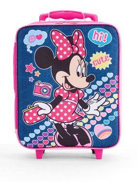 """Minnie Mouse 14"""" Rolling Pilot Carry On Case"""