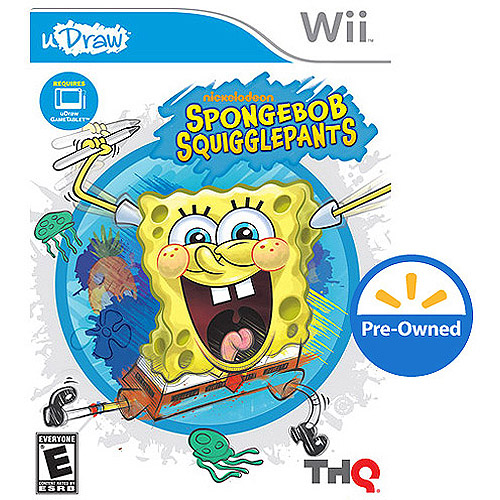 Spongebob Squigglepants Udraw (Wii) - Pre-Owned