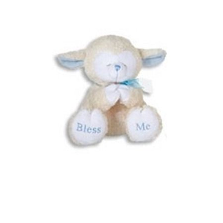 Praying Lamb (PRAYING LAMBS-8 INCH/BLUE/Plays