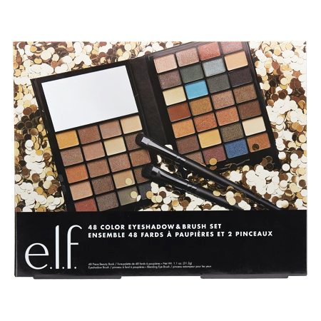 ($15 Value) e.l.f. Cosmetics 48 Color Eyeshadow and Brush Set