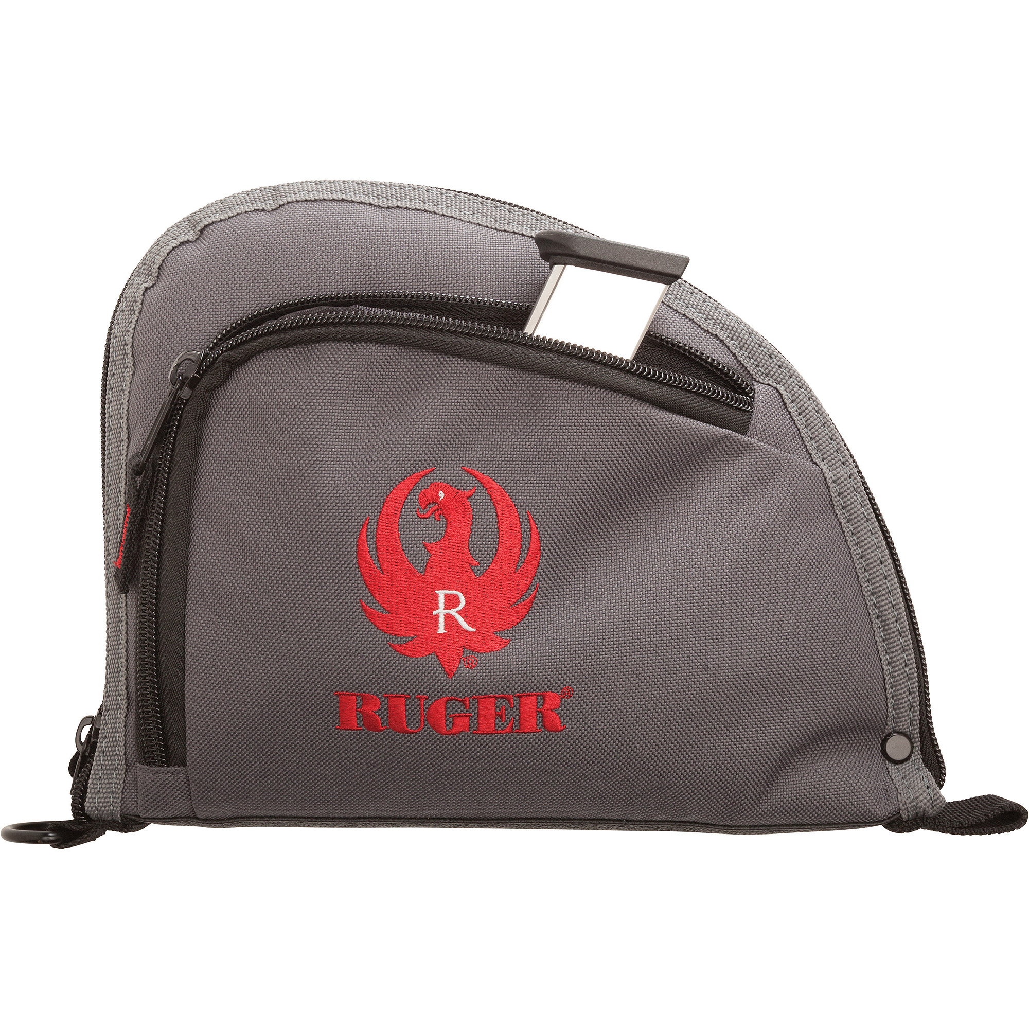 "Ruger One Pocket 9"" Auto-Fit Handgun Case, Gray by Allen Company"