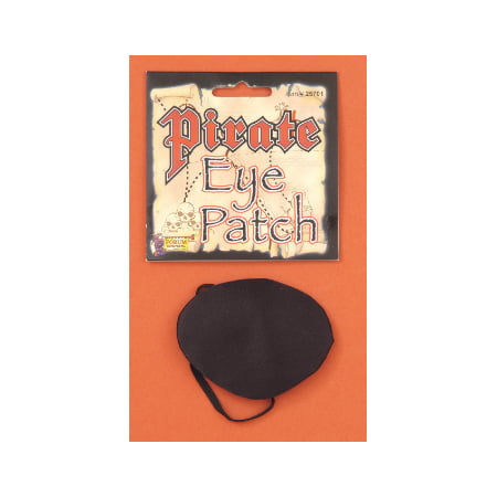 Pirate Eye Patch Halloween Costume Accessory (Halloween Eye Safety)
