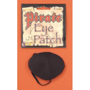 Pirate Eye Patch Halloween Costume Accessory](Pirate Halloween Sayings)