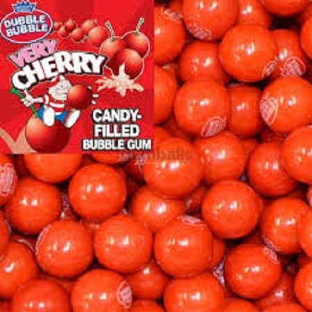 VERY CHERRY 5LBS DUBBLE BUBBLE GUMBALLS (Very Cherry Bubble)
