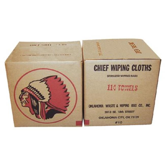 Oklahoma Waste And Wiping Rag 552-107-25 No 1 Colored 6To9Oz Cotton Wiping Clot