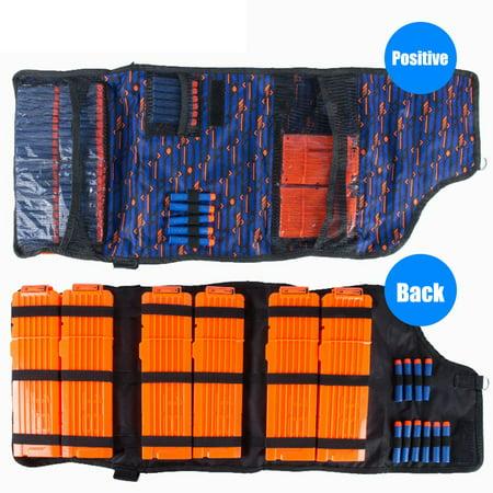18 Round Magazine (Diagonal Package Storage Bag 18-Round Magazine Bag For Nerf N-Strike Game Toy BU)