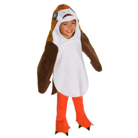 Star Wars The Last Jedi Deluxe Toddler Porg Costume (Deluxe Jedi Knight Costume)