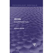Ability (Psychology Revivals) - eBook