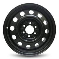 """Road Ready Replacement 18"""" Black Steel Wheel Rim 04-20 Ford F150 11-17 Expedition 03-17 Navigator 06-08 LT 6 Lug"""