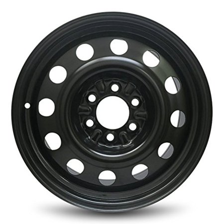 "Road Ready Replacement 18"" Black Steel Wheel Rim 04-15 Ford F150 11-15 Expedition 03-15 Navigator 06-08 LT 6 Lug"