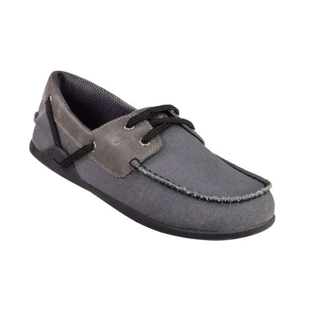 Xero Shoes Xero Shoes Boaty Men S Slip On Boat Shoe Barefoot Inspired Minimalist Zero Drop Canvas Casual Shoe Charcoal Walmart Com Walmart Com