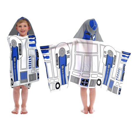 Star Wars  Classic R2D2 Hooded Towel - Star Wars Tower