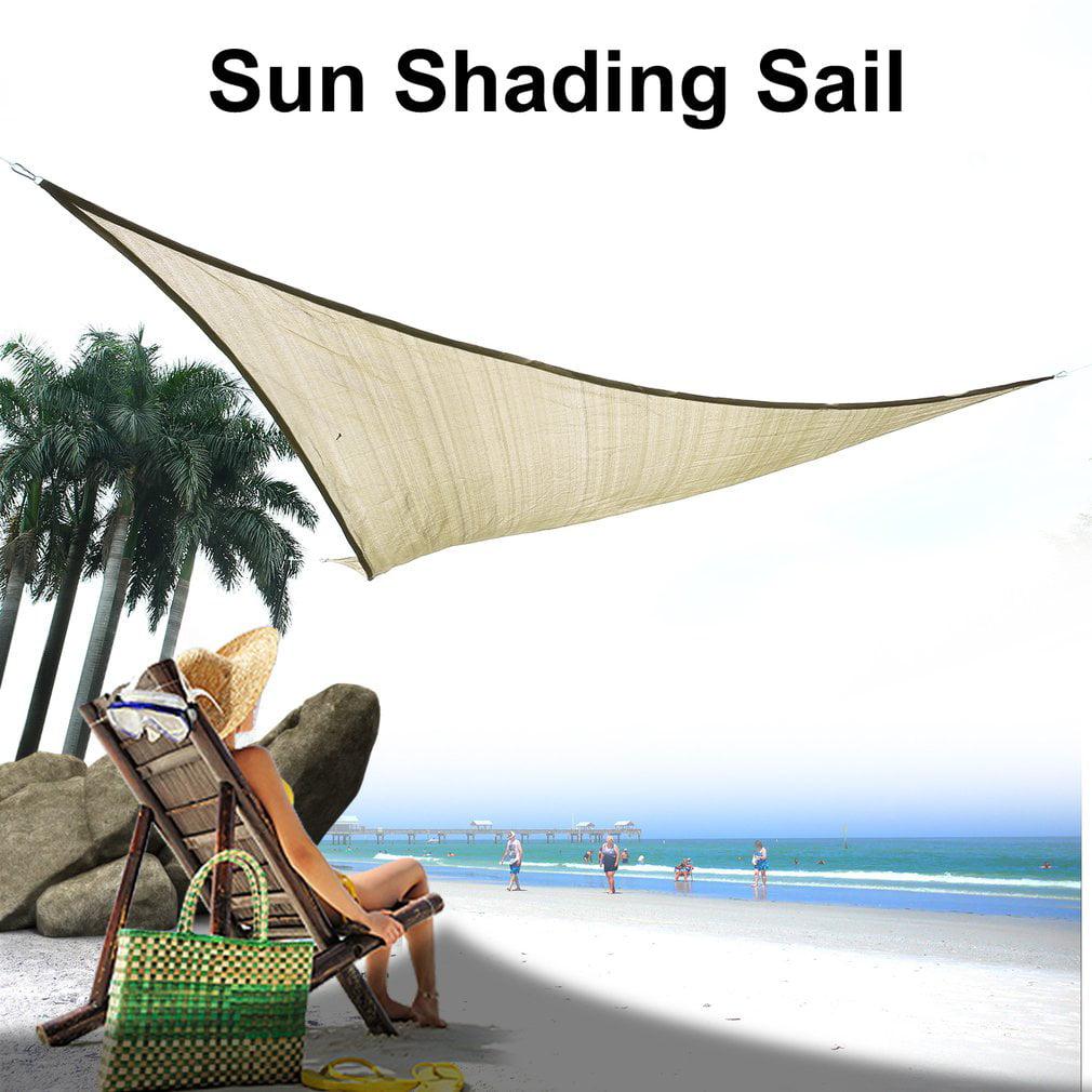 11.5 Feet UV Blocking Triangles Top Canopy Patio Top Cover Sun Shade Sail