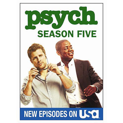 Psych: The Complete Fifth Season (Widescreen)