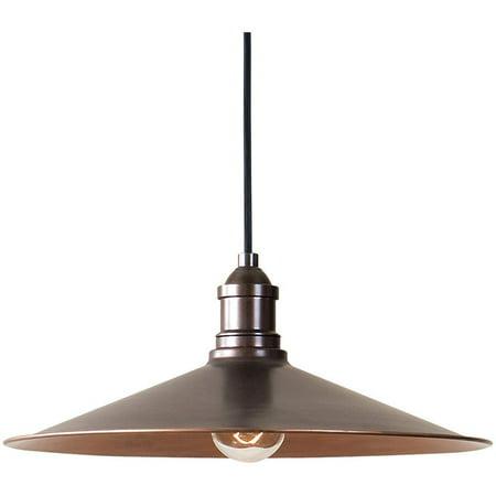 Uttermost Barnstead 1 Light Copper Pendant - image 1 de 3