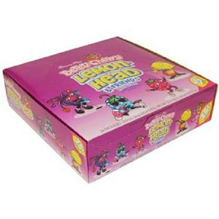 Product Of Ferrara Pan, 25C Lemonhead Berry Chewy, Count 24 (0.8 oz) - Sugar Candy / Grab Varieties & Flavors