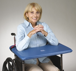 "SofTop Wheelchair Lap Tray with Straps - Item #705020 - Fits 16""-18"" W/C - 1 Each / Each"