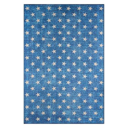 Novogratz Stars Rug, BLUE ()