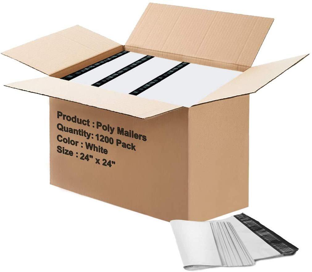 "Packaging Plastic Parcel Mailing Postal Bag Packing Envelopes Poly 17/"" x 24/"" in."