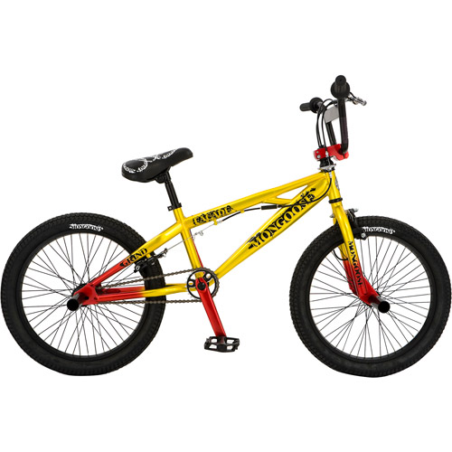 "20"" Mongoose Facade Boys' Bike, Yellow/Red"