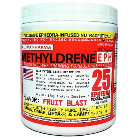 Cloma Pharma METHYLDRENE EPH 45 portions de fruits souffle