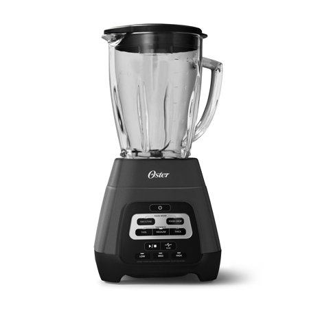 Oster Texture Select Master Series Blender with Blend-N-Go? Cup and Glass Jar, Grey