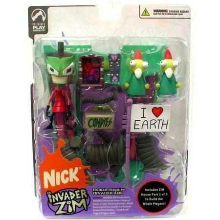 Series 2 of Doom Invader Zim Action Figure [Human Disguise] Invader Zim Human Disguise