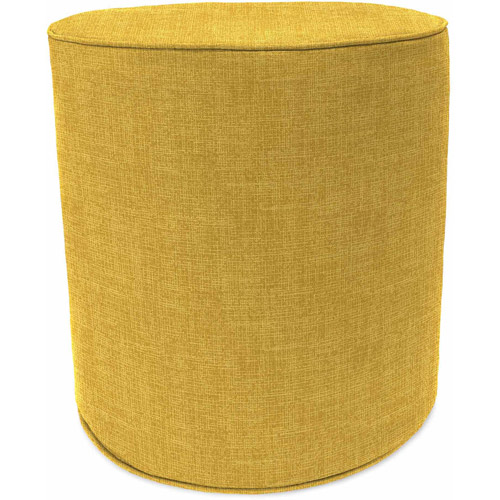 "Jordan 16.5"" Round Pouf, Multiple Patterns"