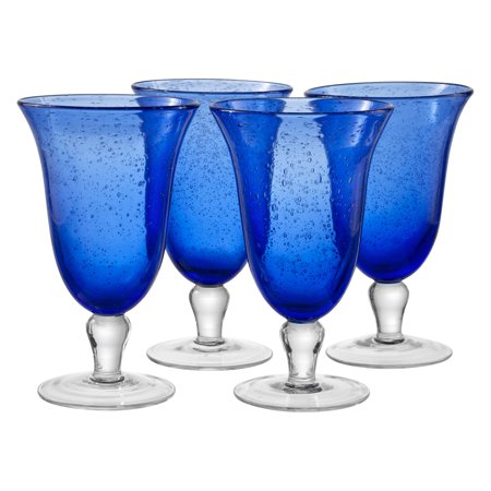 Artland Inc. Iris Cobalt Ice Tea Glasses - Set of 4