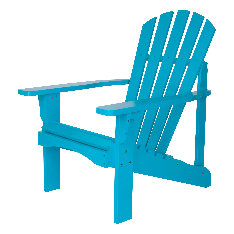 Shine Company Rockport Adirondack Chair Turquoise by Shine Company