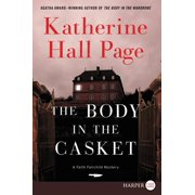 Faith Fairchild Mysteries, 24: The Body in the Casket (Paperback)(Large Print)